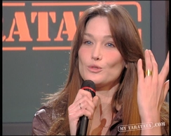 Interview Carla Bruni (2007)