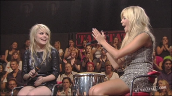 Interview Pixie Lott / Coeur De Pirate (2009)