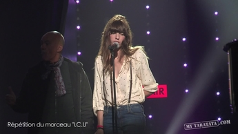 "Backstage Lou Doillon (Live TV Rehearsal ""I.C.U.""  ""Fever"" with Gary Clark Jr.)"