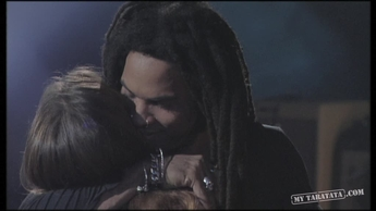 "Lenny Kravitz / Vanessa Paradis ""Silver and gold"" (1996)"