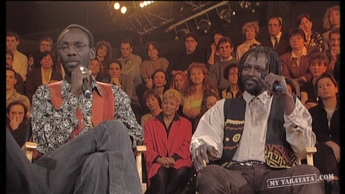 Interview Florent Pagny / Touré Kunda (1996)