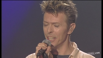 "David Bowie ""Hallo Spaceboy "" / ""Strangers When We Meet"" (1996)"