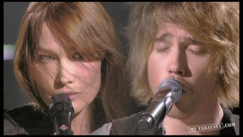 "Julien Doré / Carla Bruni ""Anyone Else But You"" (2008)"