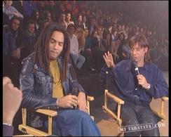 Interview Lenny Kravitz / Jean-Louis Aubert (1993)