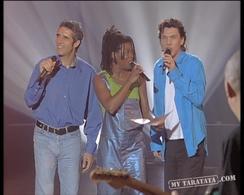 """Princess Erika / Julien Clerc / Marc Lavoine """"Travailler C'Est Trop Dur"""" (1997)"""
