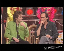 Interview Philippe Lavil, David Hallyday, Pierre Palmade (1993)