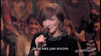 Interview N°2 Sarah Blasko (2010)