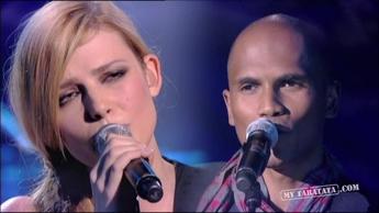 """Mike Ibrahim & Elodie Frégé """"L'Amour A La Plage"""" (2009)"""