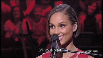 Interview Alicia Keys (Partie 1) (2012)