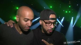 "Backstage Disiz (Live TV Rehearsal ""Combien de temps?"" 2012)"