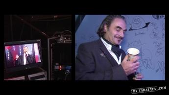 """Backstage Stephan EICHER (Live TV Rehearsal """"Le Sourire"""" // """"Combien de temps"""")"""
