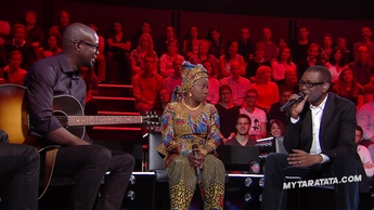 "Youssou NDour & Angélique Kidjo ""You Can Get It If You really Want It"" (J.Cliff)"