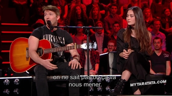 Interview James Blunt / Jasmine Thompson (2017)