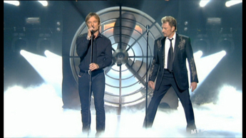 "Johnny Hallyday / David Hallyday ""Le Pénitencier"" (2007)"