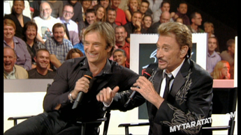 Interview Johnny Hallyday / David Hallyday (2007)