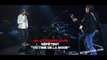 Les coulisses des répètes avec -M- & Roméo Elvis (2019)
