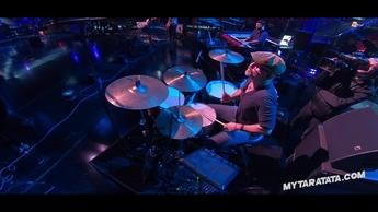 """Répétitions avec David Salkin (Batteur Zazie) de """"I Love Rock'N'Roll"""" (2019)"""
