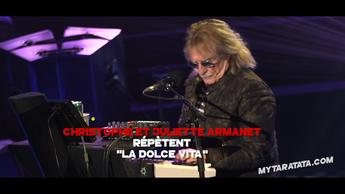 Les coulisses des répètes avec Christophe & Juliette Armanet (2019)