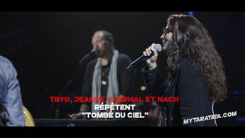 Les coulisses des répètes avec Tryo / Jeanne Cherhal / Nach (2019)