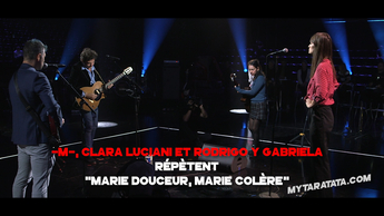 Les coulisses des répètes avec -M-, Clara Luciani, Rodrigo & Gabriela (2019)