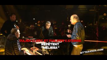 Les coulisses des répètes avec Julien Clerc et Philippe Katerine (2019)
