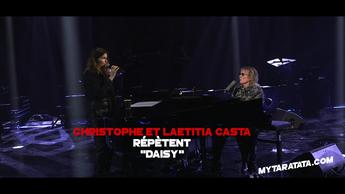 Les coulisses des répètes avec Christophe & Laetitia Casta (2020)