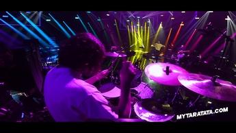 """Répétitions avec Linden Marissen (Batteur The Faim) """"Electric Feel"""" (MGMT)"""