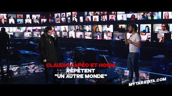 Les coulisses des répètes avec Claudio Capéo & Hoshi (2020)