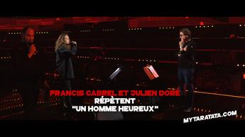 Les coulisses des répètes avec Francis Cabrel & Julien Doré (2020)