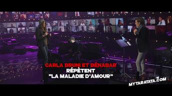 Les coulisses des répètes avec Bénabar & Carla Bruni (2020)
