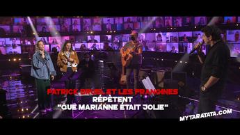 Les coulisses des répètes avec Patrick Bruel & Les Frangines (2020)
