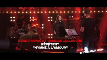 Les coulisses des répètes avec Kendji Girac & Camille Lellouche (2021)