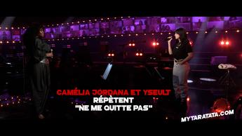 Les coulisses des répètes avec Camélia Jordana & Yseult (2021)
