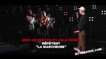 Les coulisses des répètes avec Eddy De Pretto & Arlo Parks (2021)