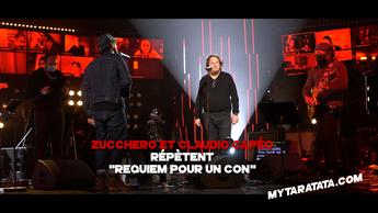 Les coulisses des répètes avec Zucchero & Claudio Capéo (2021)