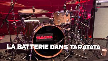 La batterie dans Taratata